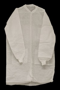 Lab Coat with collar (Fluid Resistant) (XLarge)