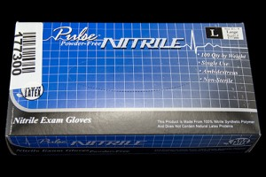 Glove Exam Nitrile (Large)