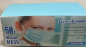 Mask Surgical (w/Ear Elastic)