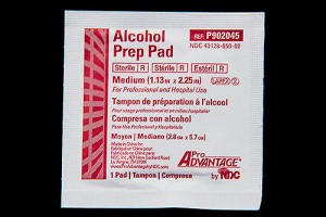 Alcohol Preps 2 Ply Medium