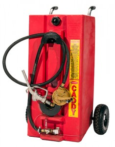 Gas Caddy w/Rotery Hand Pump and Nozzle